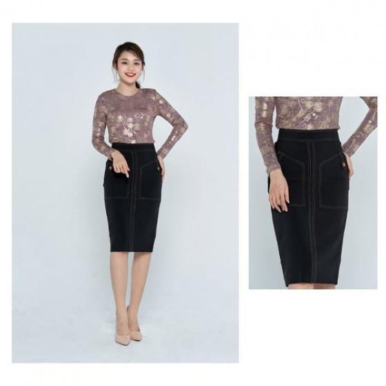 Áo len nữ màu hồng HeraDG - WAK18201