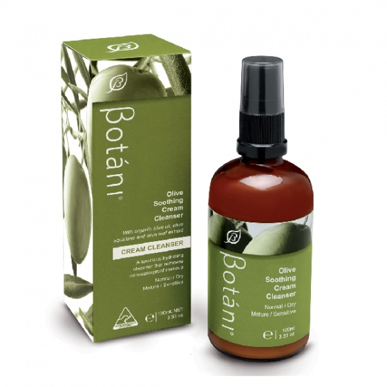 Kem rửa mặt dịu da Botani Olive Soothing Cream Cleanser (100ml)