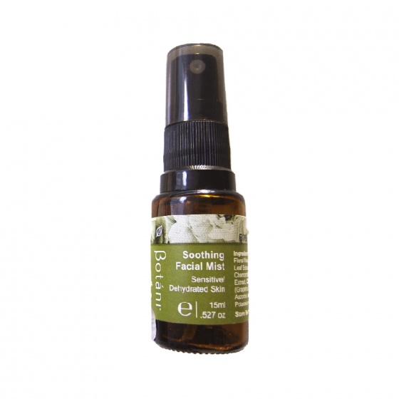 Xịt dưỡng hoa hồng nguyên chất Botani Soothing Facial Mist (15ml)