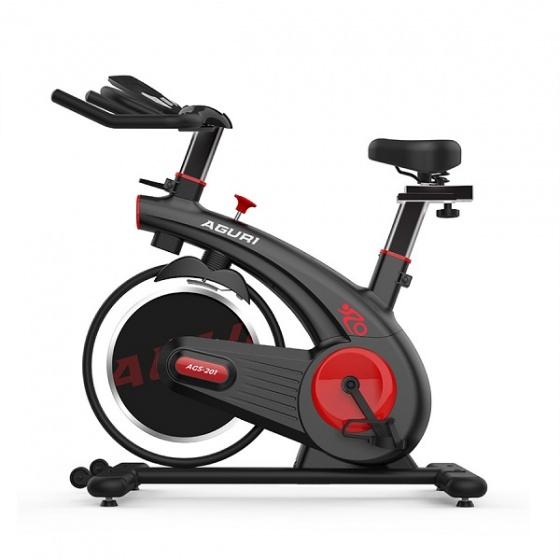Xe đạp tập thể dục Aguri AGS-201 - thiết kế đẹp mắt, trẻ trung, độ bền cao