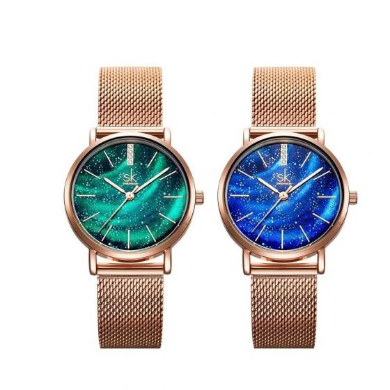 (Siêu sale) Đồng hồ nữ chính hãng Shengke Korea 11K0103L