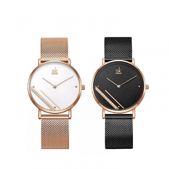(Siêu sale) Đồng hồ nữ chính hãng Shengke UK 11K0106L