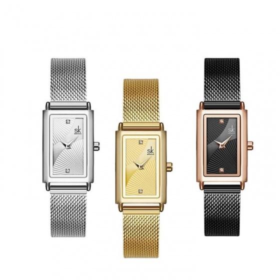 (Siêu sale) Đồng hồ nữ chính hãng Shengke Korea 11K0119L
