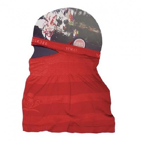 Khẩu trang làm mát chống nắng, kháng khuẩn từ sợi Hyosung (Màu đỏ)