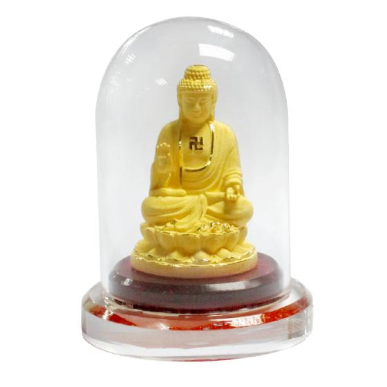 Phật Gia Phổ Độ - quà tặng mỹ nghệ Kim Bảo Phúc phủ vàng 24K DOJI