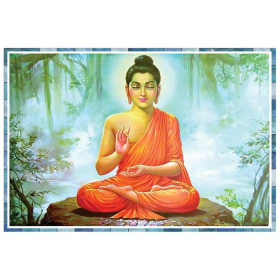 Tranh Phật Thích Ca Mâu Ni HP-329