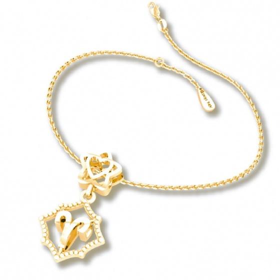 Mặt charm cung hoàng đạo Bạch Dương vàng 14K DOJI 0120P-LAL353-YG (không bao gồm dây)