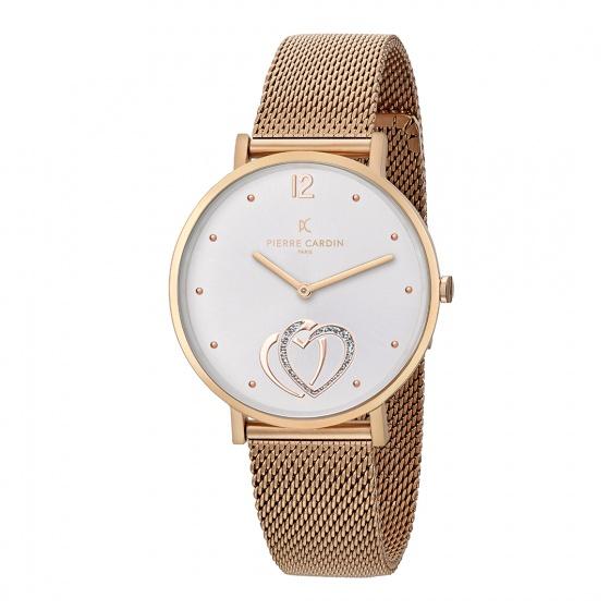 Đồng hồ nữ Pierre Cardin chính hãng CBV.1040 bảo hành 2 năm toàn cầu - Máy pin thép không gỉ