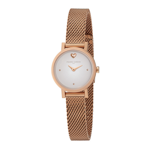 Đồng hồ nữ Pierre Cardin chính hãng CCM.0519 bảo hành 2 năm toàn cầu - máy pin thép không gỉ