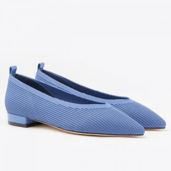 Giày gót thấp Pazzion 19A56-1 - BLUE