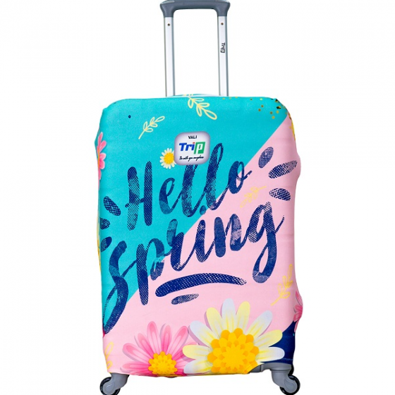 Áo trùm vali thun 4 chiều Trip Hello Spring size M