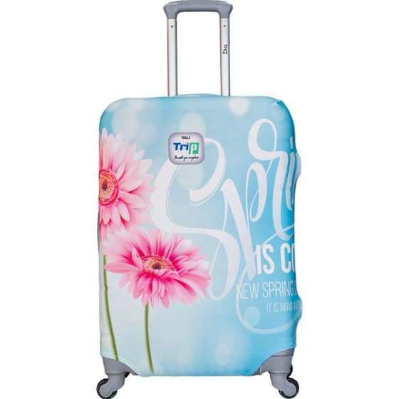 Áo trùm vali thun 4 chiều Trip Spring size M