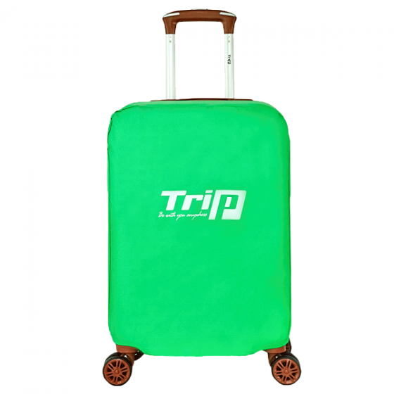 Áo trùm vali Trip vải dù chống thấm nước size L xanh lá
