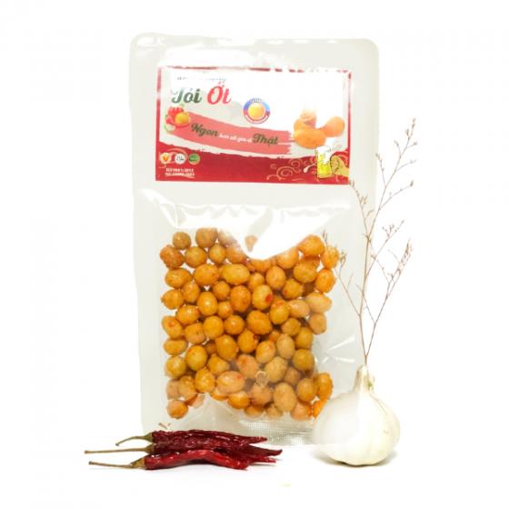 Đậu phộng tỏi ớt Tài Tài (gói 90g)