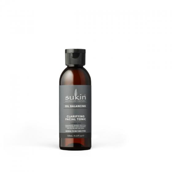Nước cân bằng cho da dầu Sukin oil balancing clarifying facial tonic 125ml