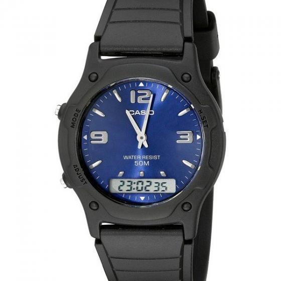 Đồng hồ Casio unisex dây nhựa AW-49HE-2AVDF New