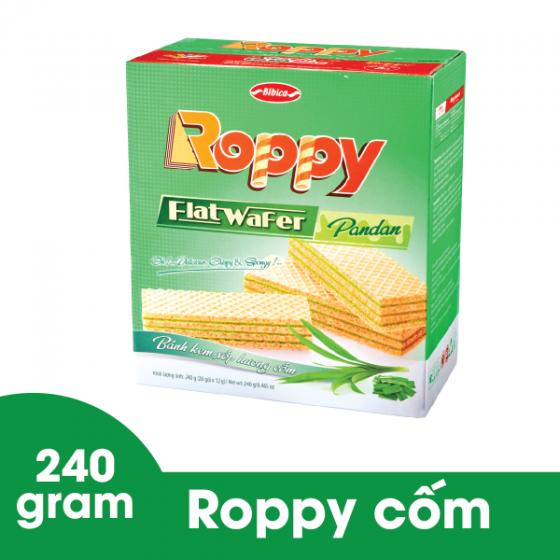Bánh kem xốp phô mai roppy hộp giấy 240 gram Bibica