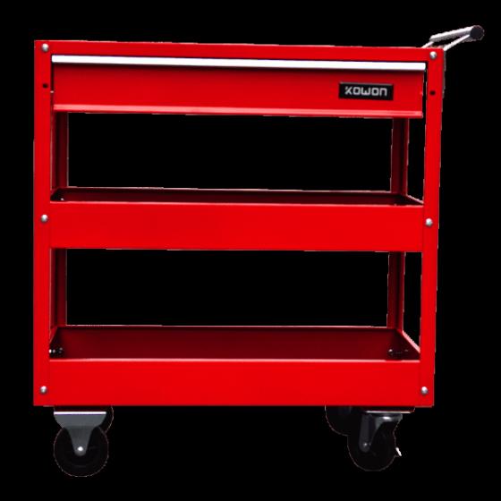 Xe đẩy dụng cụ 2 ngăn có bánh xe Kowon KTC301-2-X