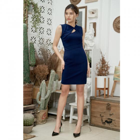 Đầm liền màu xanh than HeraDG - SDC18041