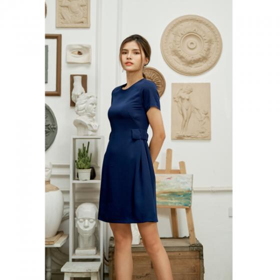 Đầm liền màu xanh than HeraDG - SDC18038