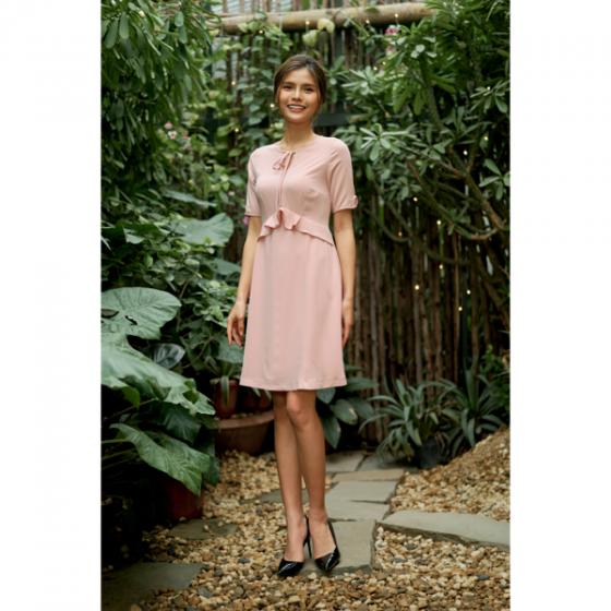 Đầm liền màu hồng HeraDG - SDC18068