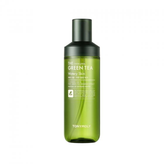 Nước Cân Bằng Trà Xanh Giúp Dưỡng Ẩm Và Chống Oxy Hóa Cho Da - The Chok Chok Green Tea Watery Skin 180ml