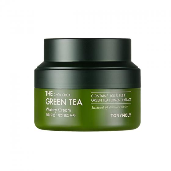 Kem Dưỡng Trà Xanh Giúp Dưỡng Ẩm Và Chống Oxy Hóa Cho Da Thường - The Chok Chok Green Tea Watery Cream 60ml