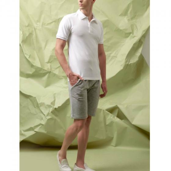 Quần shorts nam The Cosmo Anker Jersey Shorts màu xám TC1025019GR