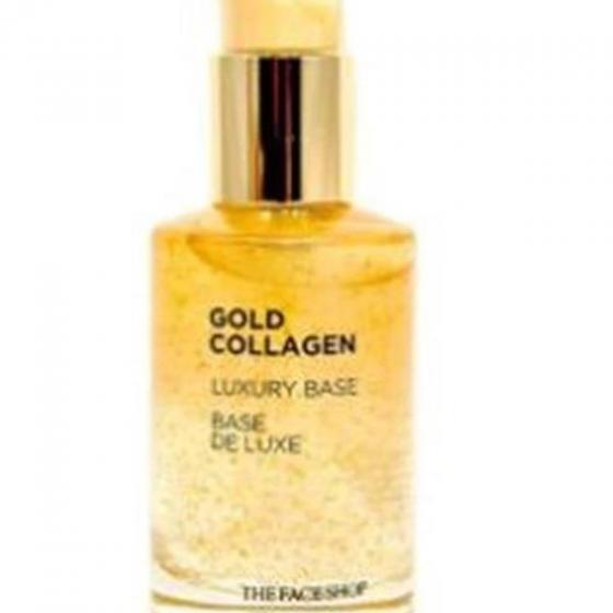 Kem lót trang điểm The Face Shop gold collagen luxury base 50ml