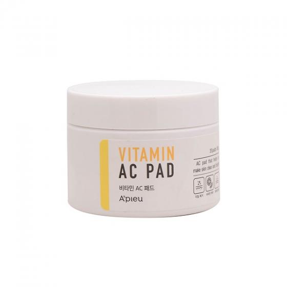 Miếng tẩy da chết Apieu Vitamin AC Pad 30 miếng