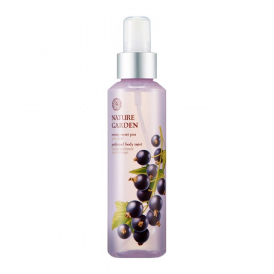 Xịt dưỡng thể The Face Shop Nature Garden Sweety Sweet Pea Perfumed Body Mist 155ml