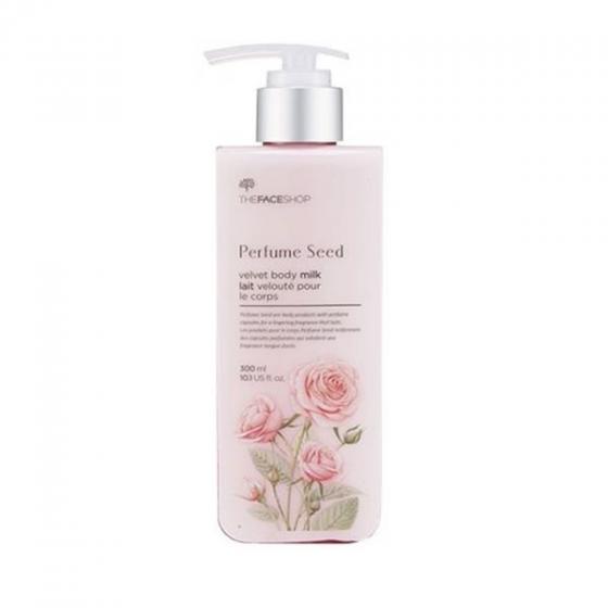 Sữa dưỡng thể hương nước hoa The Face Shop perfume seed velvet body milk 300ml