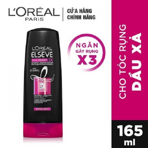 Dầu xả ngăn gãy rụng tóc LOreal Paris Elseve Fall Resist 3X Conditioner 165ml