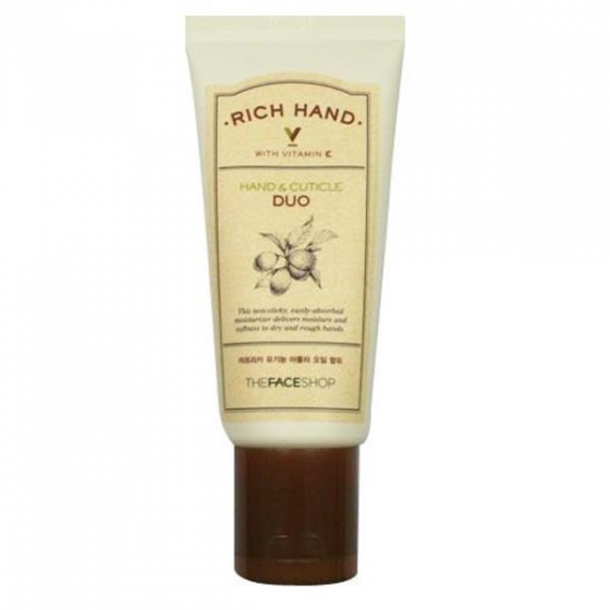 Mặt nạ chăm sóc tay The Face Shop Rich Hand V Special Care Hand Mask 16ml