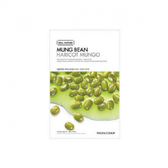 Mặt nạ đậu xanh thanh lọc da The Face Shop Real Nature Mung Bean Face Mask 20ml