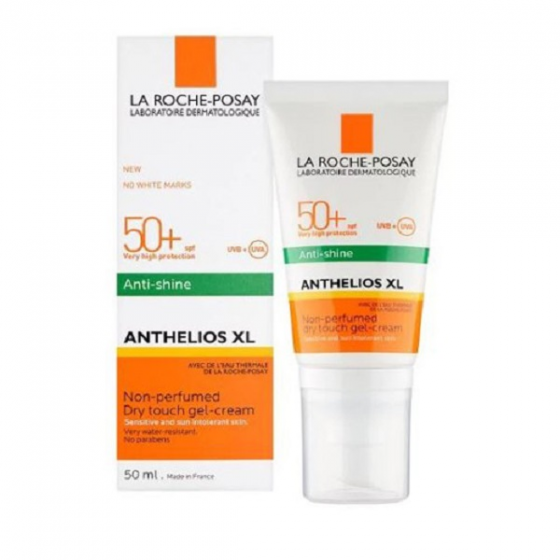 Kem chống nắng kiểm soát dầu La RochePosay  Anthelios Xl SPF50 Dry Touch GelCream AntiShineSPF50 50ml