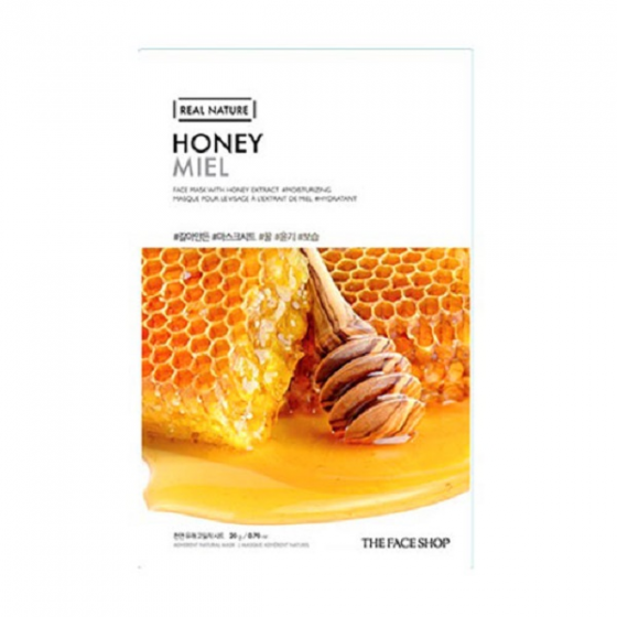 Mặt nạ phục hồi ẩm tối ưu The Face Shop  Real Nature Honey Face Mask 20ml