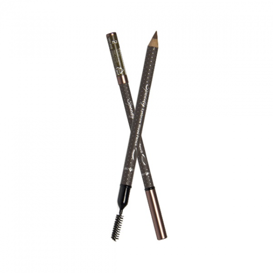 Bút kẻ mắt Peripera speedy eyebrow auto pencil 002 gray brown