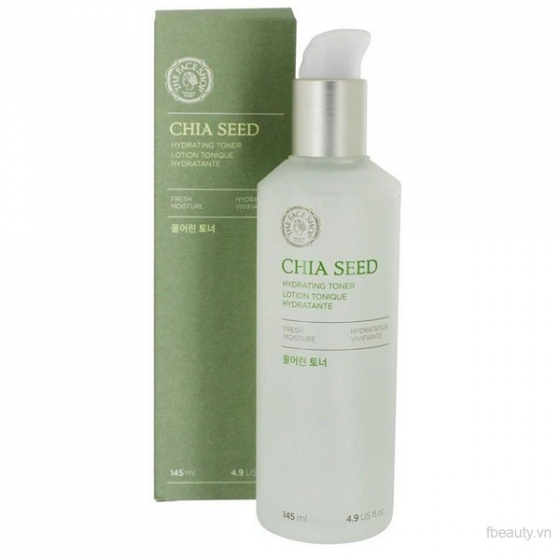 Nước cân bằng The Face Shop  ChiaSeed Hydrating Facial Toner 145ml