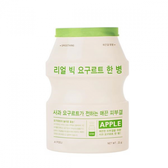 Mặt nạ sữa chua Apieu Real Big Yogurt One Bottle Apple 21ml