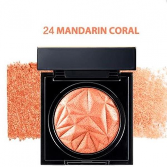 Phấn mắt Clio prism air shadow sparkling 24 mandarin coral