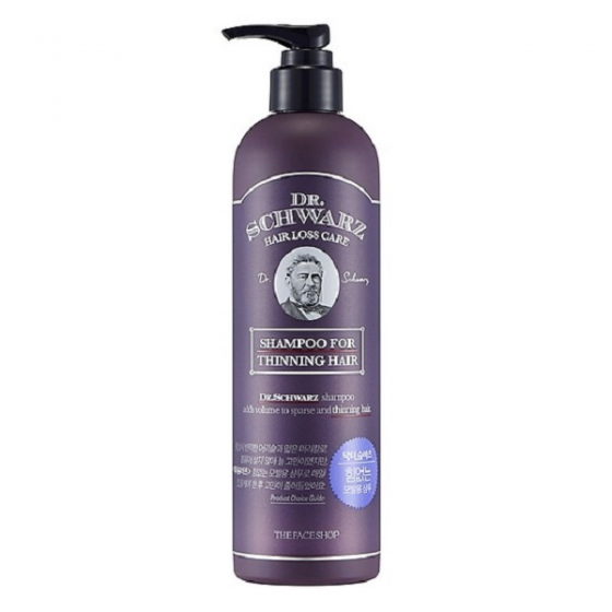 Dầu gội dành cho tóc thưa mỏng The Face Shop Dr.Schwarz Shampoo For Thinning Hair 380ml