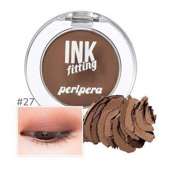 Màu mắt Peripera ink fitting shadow 27 cocoa filter