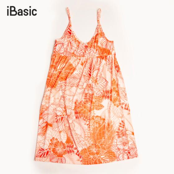 Đầm ngủ nữ hai dây iBasic SW051