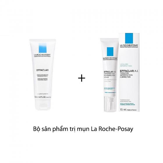 Bộ sản phẩm trị mụn La Roche-Posay
