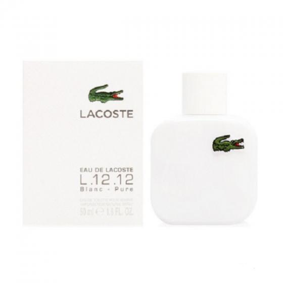 Nước hoa Lacoste Edl L.12.12 Blanc Edt 50Ml Gal