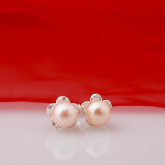 Hoa tai ngọc trai - Opal - ET5-08