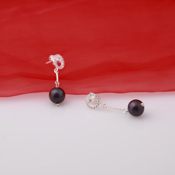 Hoa tai ngọc trai - Opal - ET5-12