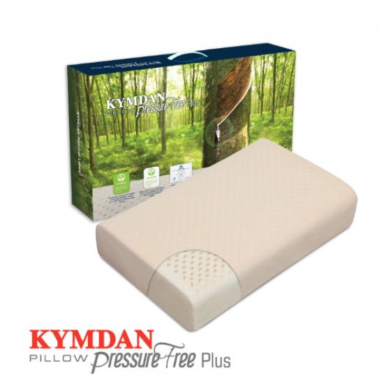 Gối cao su thiên nhiên Kymdan Pillow PressureFree Plus 60 x 38 x 10 cm