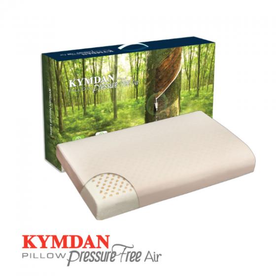 Gối cao su thiên nhiên Kymdan Pillow PressureFree Air 60 x 38 x 8,5 cm